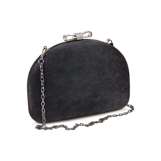 Evening purse clutch Verde 01-1278 black