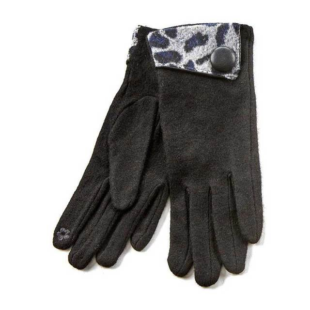 Gloves for women Verde 02-579 black