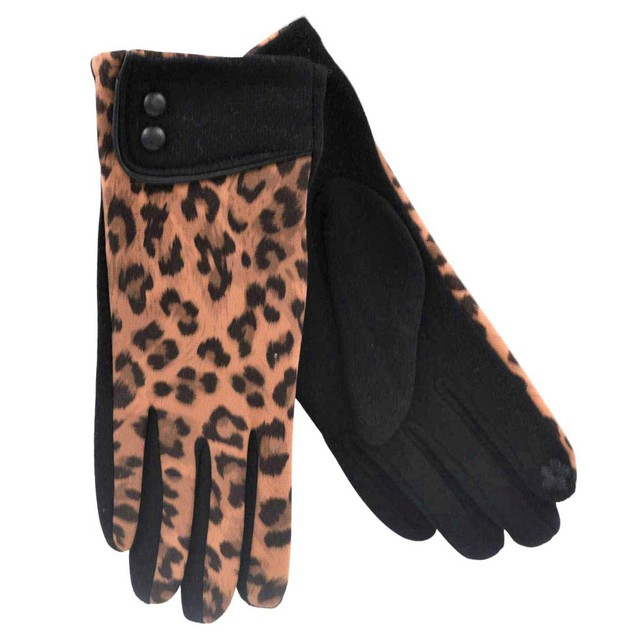 Gloves for women Verde 02-584 camel