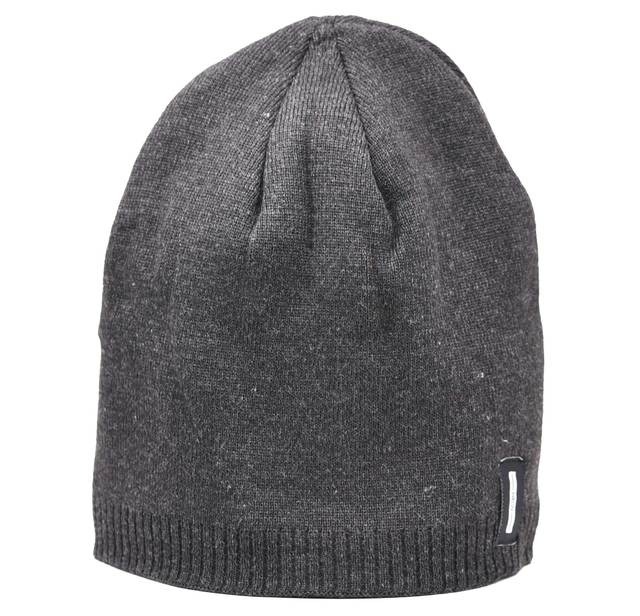 Men's hat 12-697 dark gray