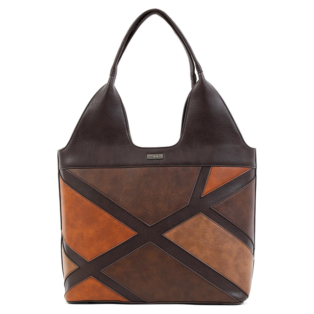 Handbag Doca 16860 brown