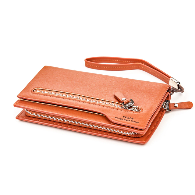 Wallet for woman Verde 18-1002 camel