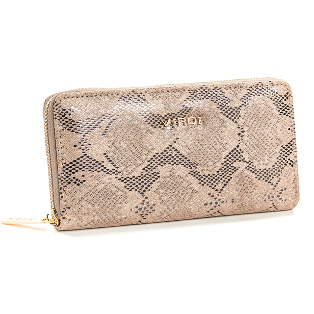 Wallet for women Verde 18-1096 taupe
