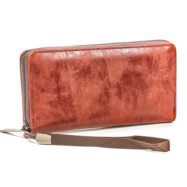 Wallet for women Verde 18-1097 camel