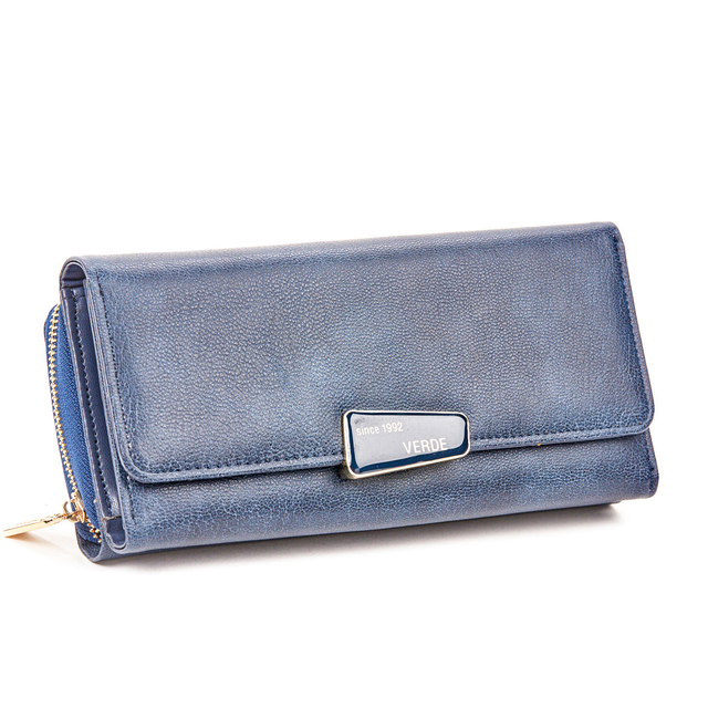 Wallet for woman Verde 18-996 blue