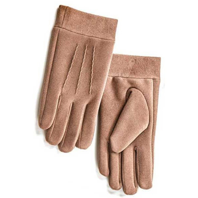 Gloves for men Verde 20-23 taupe