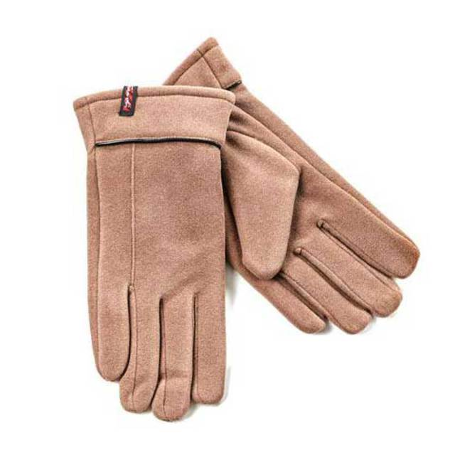 Gloves for men Verde 20-24 taupe