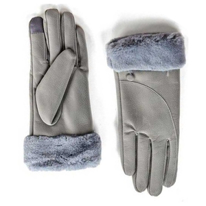 Gloves for women Verde 02-601 gray