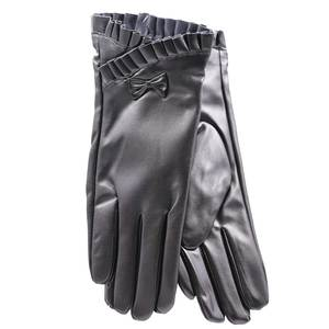 Gloves for women Verde 02-578 black