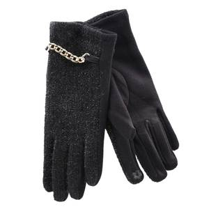Gloves for women Verde 02-582  black