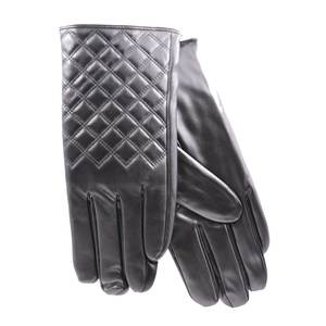 Gloves for women Verde 02-589 black