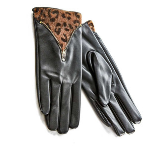 Gloves for women Verde 02-590 black