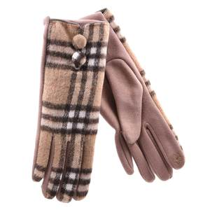 Gloves for women Verde 02-599 beige
