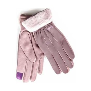 Gloves for women Verde 02-602 lila