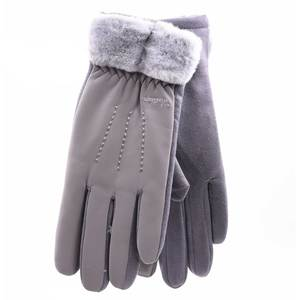 Gloves for women Verde 02-602 grey