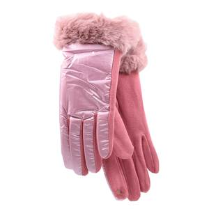 Gloves for women Verde 02-603 pink