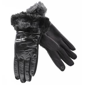 Gloves for women Verde 02-603 black