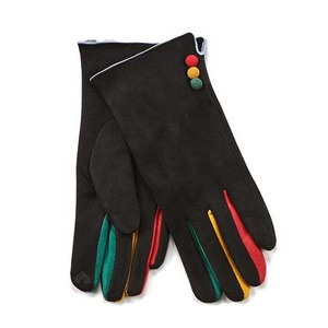 Gloves for women Verde 02-608 black