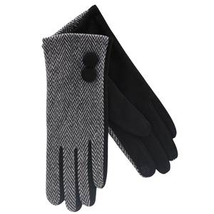 Gloves for women Verde 02-610 black