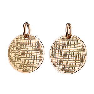 Steel earring 316L rose-gold