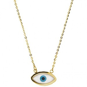 Womens necklace steel 316 L gold