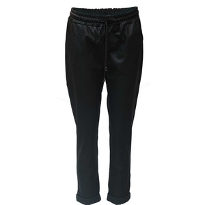 Women's pants pu leather bode 1474  black