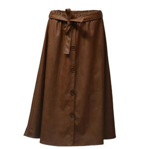 Women's skirt midi 1536 camel
