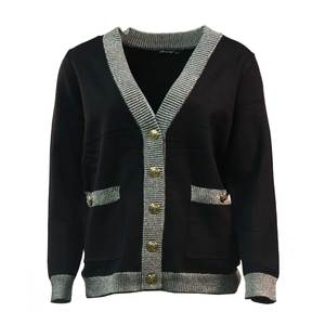 Knitted jackets 1557 black