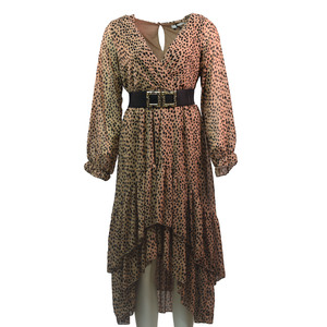 Women's midi dress 1575 bode camel