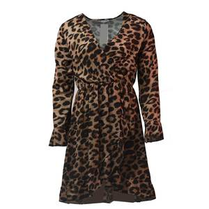 Women's dress bode 1594 leopard