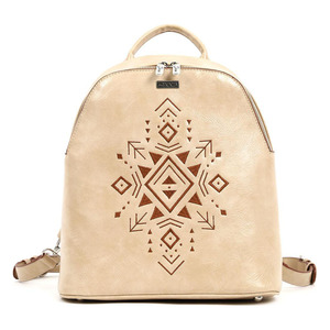 Backpack Doca 17083 beige