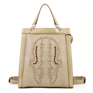 Backpack Doca 17160 beige