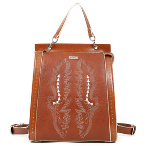 Backpack Doca 17161 camel