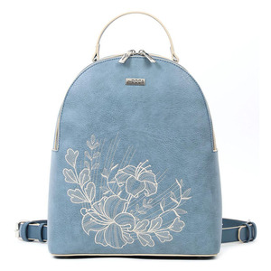 Backpack Doca 17192 light blue