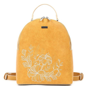 Backpack Doca 17193 yellow