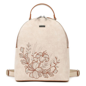 Backpack Doca 17194 beige