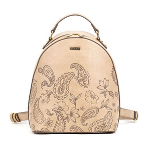 Backpack Doca 17205 beige