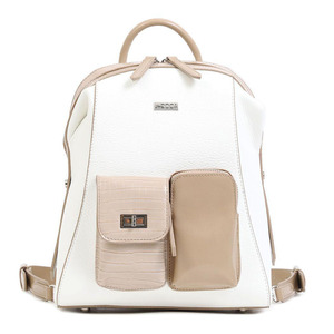 Backpack Doca 17428 white