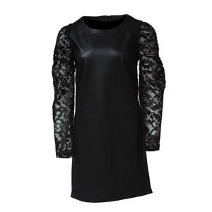 Women's pu leather dress bode 1761 black