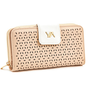 Wallet for women Verde 18-1098 beige