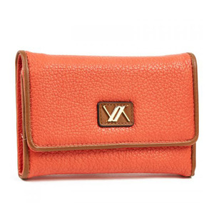 Wallet for women Verde 18-1100 orange