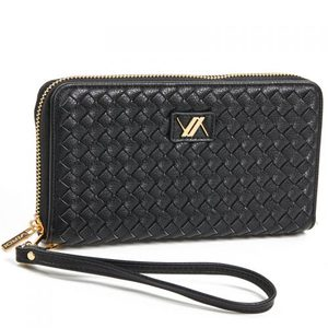 Wallet for women Verde 18-1102 black