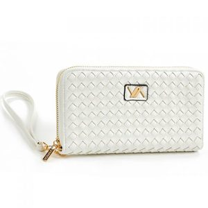 Wallet for women Verde 18-1102 white