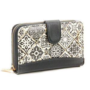 Wallet for women Verde 18-1103 black