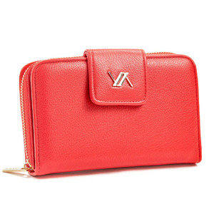 Wallet for women Verde 18-1105 red
