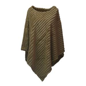 Women's poncho Verde 33-465 taupe