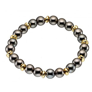 Men 's steel bracelet  316L gold