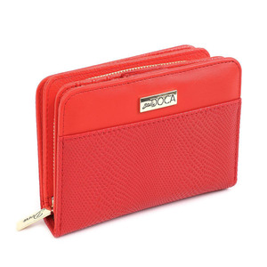 Wallet for women Doca 65916 red