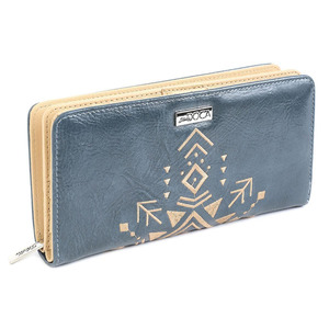Wallet for women Doca  65968 blue