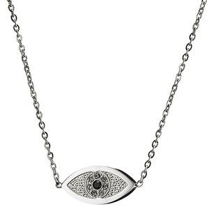 Womens necklace steel 316 L silver